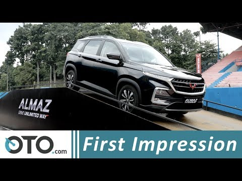 Wuling Almaz 1.5 Turbo CVT | First Impression | SUV Cina Fitur Berlimpah | OTO.com
