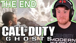 Royal Marine Plays THE END Call Of Duty Ghosts For The First Time!