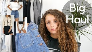 HAUL & TRY ON - summer soldes
