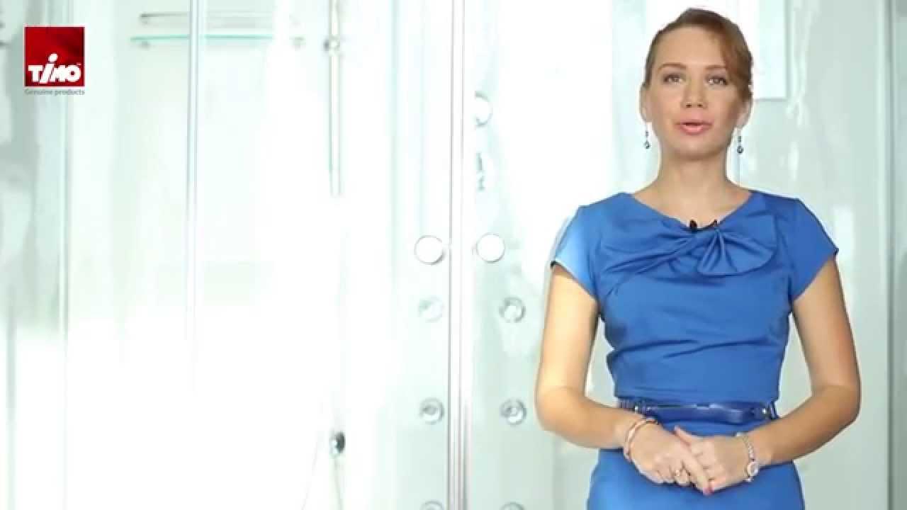 Душевая кабина с ванной Timo T-7770 170x90 видео