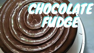 chocolate icing made with cocoa powder