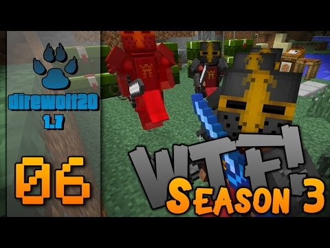 "Minecraft - Direwolf20 1.7.10 - FTB -60FPS - ""How to Farm Crimson Cult Knights "" - ""WTF!"" S3E06"