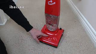 Hoover Purepower Toy Vacuum Cleaner By Theo Klein Unboxing & Demonstration