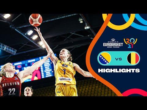 Bosnia & Herzegovina Basketball Women vs Belgium Basketball Women</a> 2021-06-17