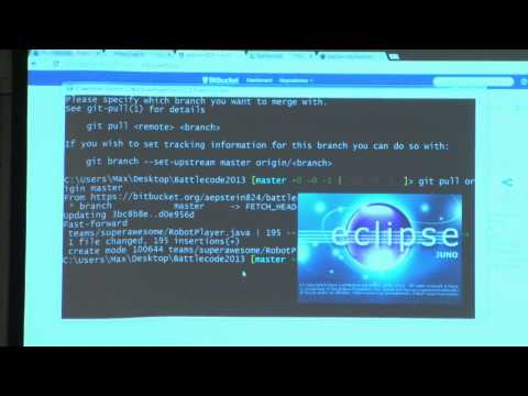 Lecture 4: Git Repository | Lecture Videos | The Battlecode