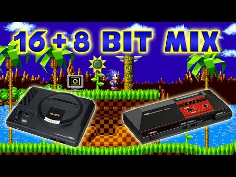 Sonic The Hedgehog - Green Hill Zone 16 + 8 Bit Mix Mp3