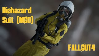 BIOHAZARD SUIT by EvTital FO4 MOD