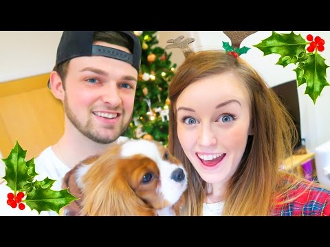 PUTTING UP OUR CHRISTMAS TREE!!!
