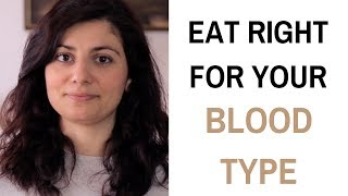 Blood Type Diet - Eat Right For Your Blood Type