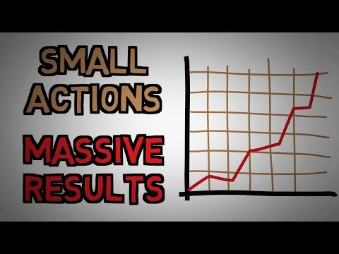 Small Daily Actions Lead To Massive Results - Consistency Is Key (animated)