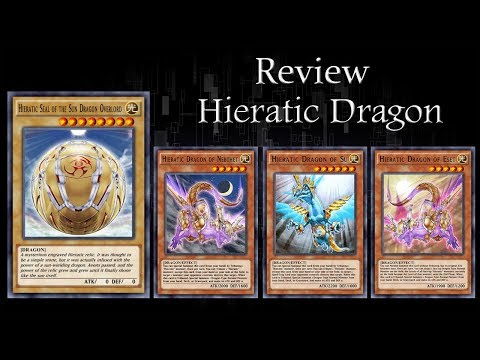 Yu-Gi-Oh! Duel Links] Review Deck : Hieratic Dragon - смотреть
