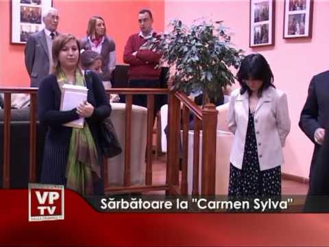 "Sărbătoare la ""Carmen Sylva"""