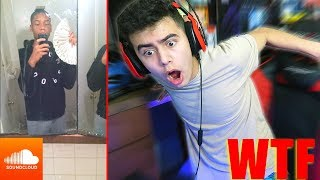 REACTING TO SOUNDCLOUD RAPPERS 3... (wtf)