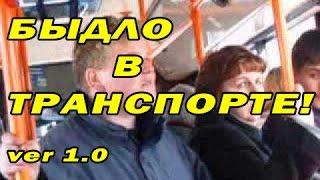 МЕГА подборка приколов декабрь 2015 / Быдло в транспорте ver 1.0