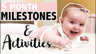 HOW TO PLAY WITH YOUR 5 MONTH OLD | DEVELOPMENTAL MILESTONES | WHAT YOU NEED TO KNOW