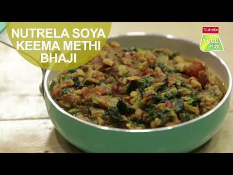 Nutrela Soya Keema Methi Bhaji