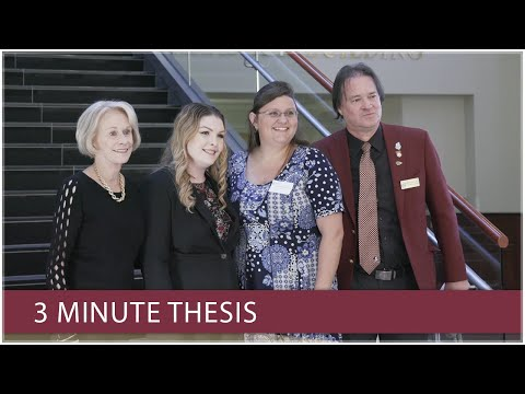 Three Minute Thesis at Florida State University