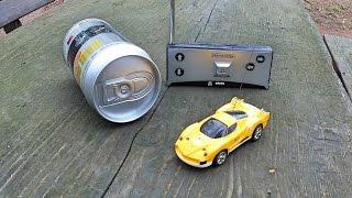 Coke Can Mini RC Car - RC Auto in der Dose von Banggood.com
