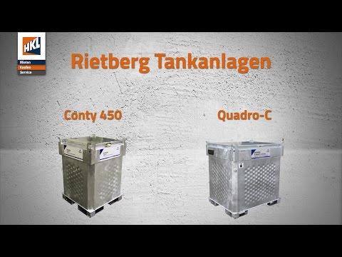 Rietberg Tankanlagen Conty 450 und Quadro-C im Einsatz | Produktfilm in 4K | HKL BAUSHOP