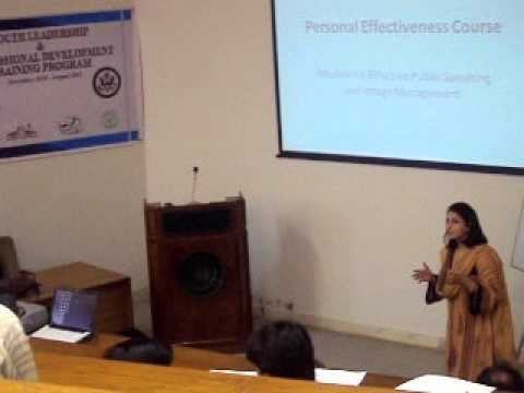 CIIM Trainer Dr. Huma Baqai in Karachi University