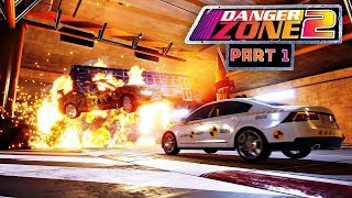 Danger Zone 2 Walkthrough Part 1 - BURNOUT STYLE CRASHES | PS4 Pro Gameplay