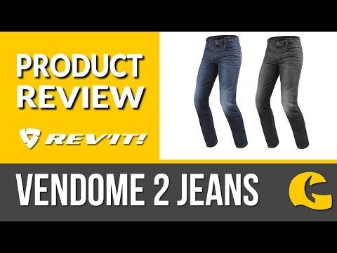 REV'IT! Jeans | REV'IT! Vendome 2 Jeans Review @ GetGeared.co.uk #GetGreatGear