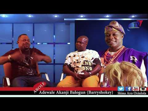 Time Out with Shina Ayo Oyinlola Episode 4 Barryshowkey  on K1 De Altimate's FUJI CREATOR