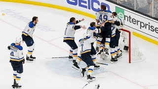 Every final call from the Blues' Game 7 Stanley Cup victory