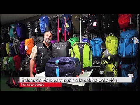 Bolsas de viaje para subir a la cabina del avión