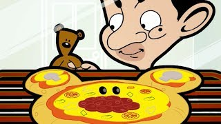 Mr Bean Cartoon: Episode 12 (Pizza Bean) | Mr Bean Episode | Mister Bean Number 1 Fan in HD