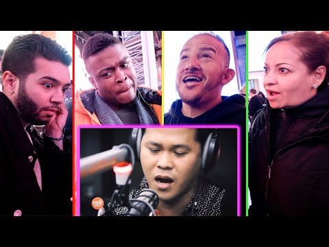 NYC Strangers React to Marcelito Pomoy's The Prayer