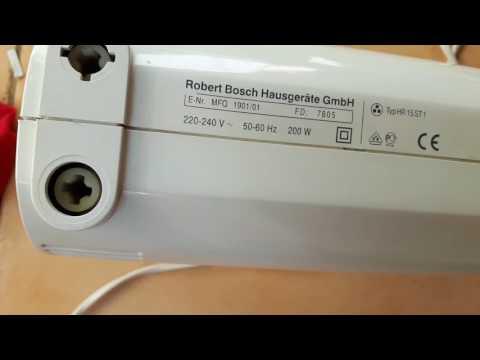 разборка миксера Bosch MFQ 1901