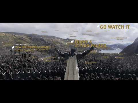 King Arthur: Legend of the Sword (TV Spot 'Epic Tweet Review')