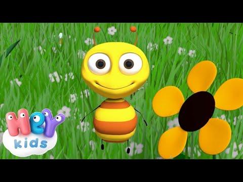 С пчелкой я дружу - Жу-жу-жу - Детские песенки