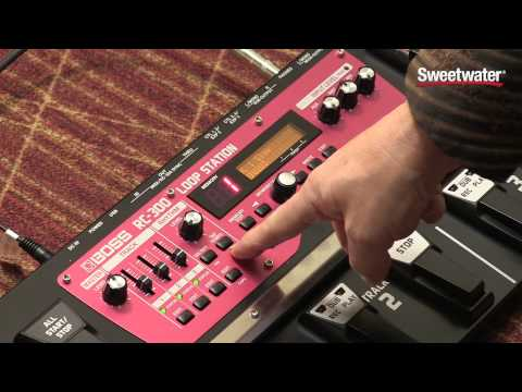 BOSS RC-300 Loop Station Pedal Review - Sweetwater Sound