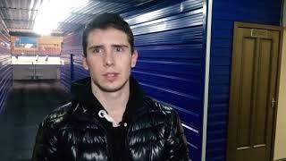 Виталий Шульга после матча «Темиртау» - «Горняк»