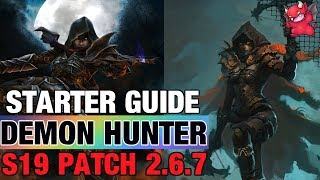 Demon Hunter Starter Build Season 19 Patch 2.6.7 Diablo 3 UE Set Guide