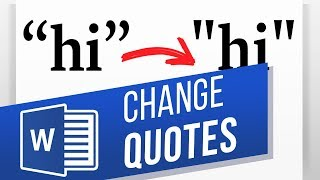 Replace Smart Curly Quotes to Straight Quotes in Word