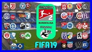 2.Bundesliga [Die Große Konferenz] Und 3.Liga - [33. & 37.Spieltag] I FIFA Prognose I 18/19 (HD)