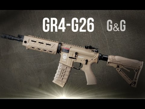 Gr4 G26 g&g blowback Fucile d'assalto (softair)
