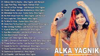 90's Evergreen Bollywood Songs Alka Yagnik - Hindi Romantic Melodies SOngs Alka Yagnik | 2020