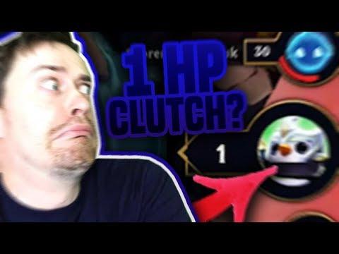 1 HP CLUTCH! NESTIHL SI PŘEHODIT JEDNOTKY - Teamfight Tactics