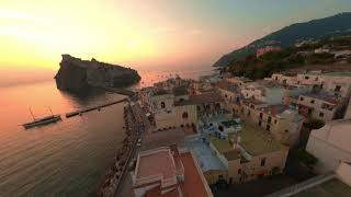 Ischia Sunrise - Castello Aragonese FPV Drone