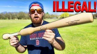 This Baseball Bat Should Be ILLEGAL!