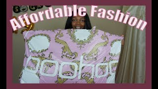 Boohoo Affordable Haul Summer To Fall Dresses | BOUGIE ON A BUDGET | 60 % OFF BOOHOO CLOTHES