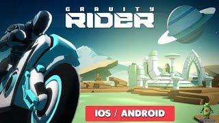 GRAVITY RIDER : POWER RUN - GAMEPLAY ( iOS / ANDROID )