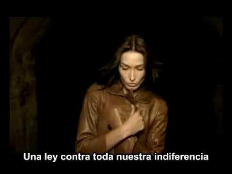 Carla Bruni -  Tout le monde (Subtitulos en  Español)