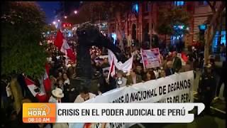 Indignación En Perú Por Corrupción En La Justicia