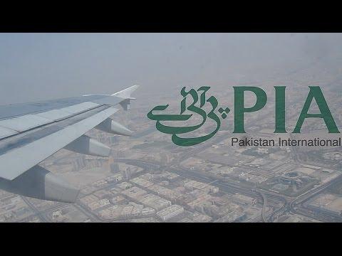Pakistan International (PIA) Airbus A310 Full flight Dubai to Lahore.