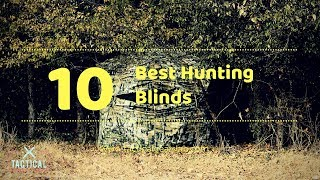 10 Best Hunting Blinds  - Tactical Gears Lab 2020